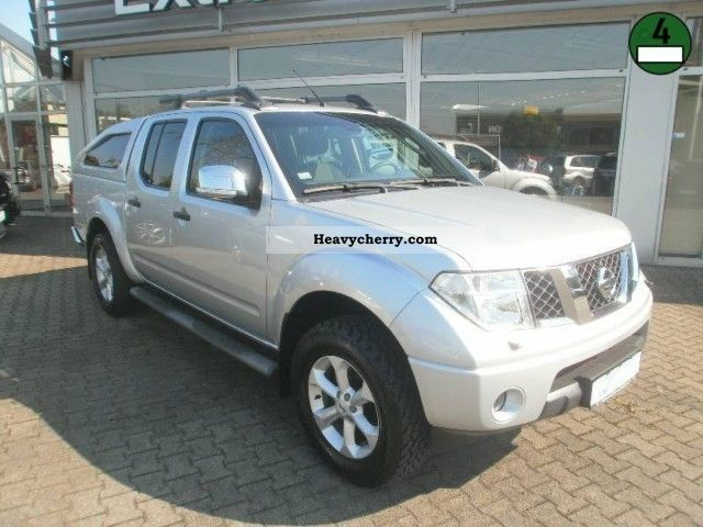 2008 Nissan  Navara DC - LE DPF Van or truck up to 7.5t Other vans/trucks up to 7 photo