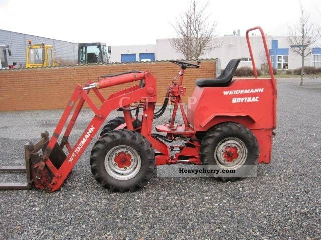 2012 Weidemann  HOFTRAC Agricultural vehicle Farmyard tractor photo