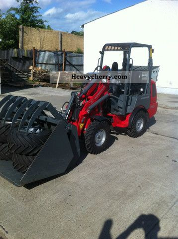 2011 Weidemann  1230 CX neuw 30th sof available, delivery poss. Agricultural vehicle Farmyard tractor photo