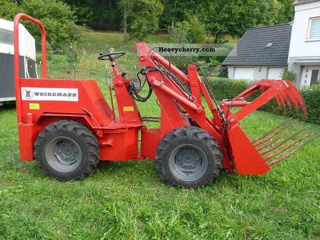 1981 Weidemann  Farmyard Agricultural vehicle Farmyard tractor photo