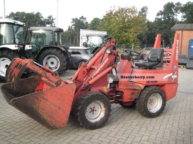 1993 Weidemann  1050 DM ready to use Agricultural vehicle Farmyard tractor photo
