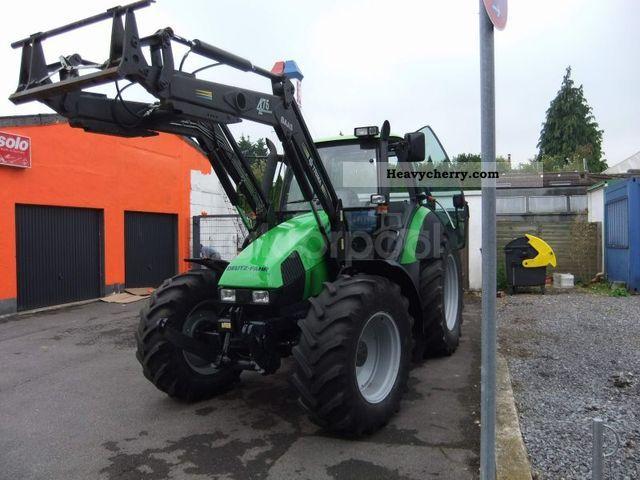 1997 Deutz-Fahr  Agrotron 120 Loader Agricultural vehicle Tractor photo
