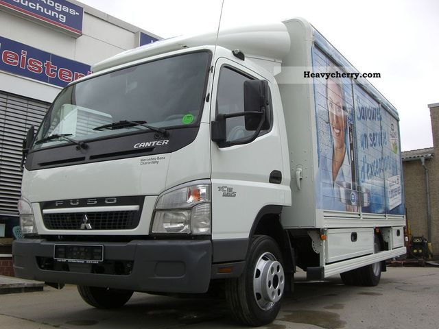 2010 Mitsubishi  FUSO / CANTER 7C15 Euro 5 Van or truck up to 7.5t Box-type delivery van photo