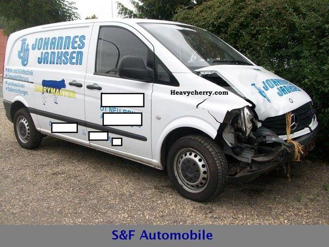 2006 Mercedes-Benz  Vitto 111 CDI panel vans Van or truck up to 7.5t Box-type delivery van photo