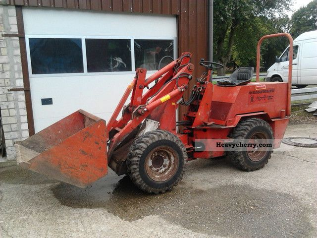 1983 Weidemann  1503 Hoftrac Skid Agricultural vehicle Farmyard tractor photo