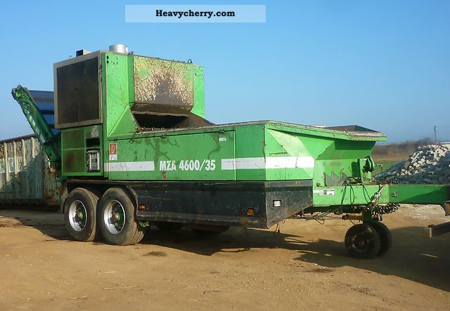 2002 Weidemann  Willibald MZA 4600/35 Agricultural vehicle Other agricultural vehicles photo