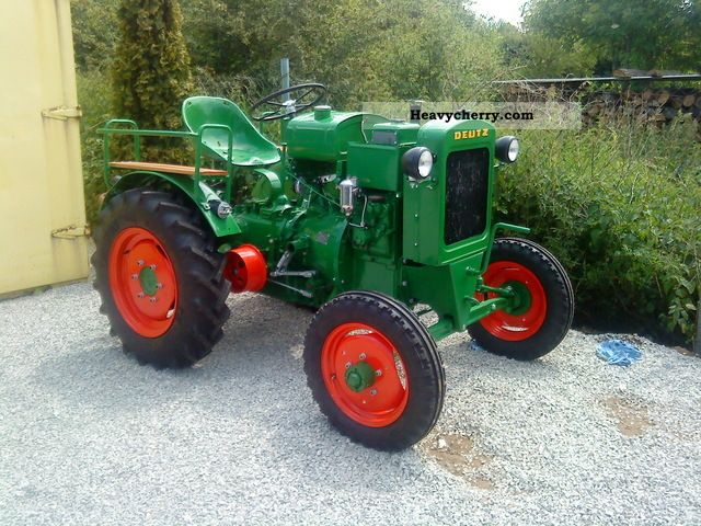 1949 Deutz-Fahr  11 he restored Deutz water-cooled - even f Agricultural vehicle Tractor photo