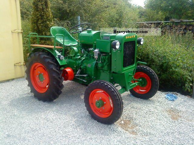 1949 Deutz-Fahr  11 he restored Deutz water-cooled - even f Agricultural vehicle Tractor photo