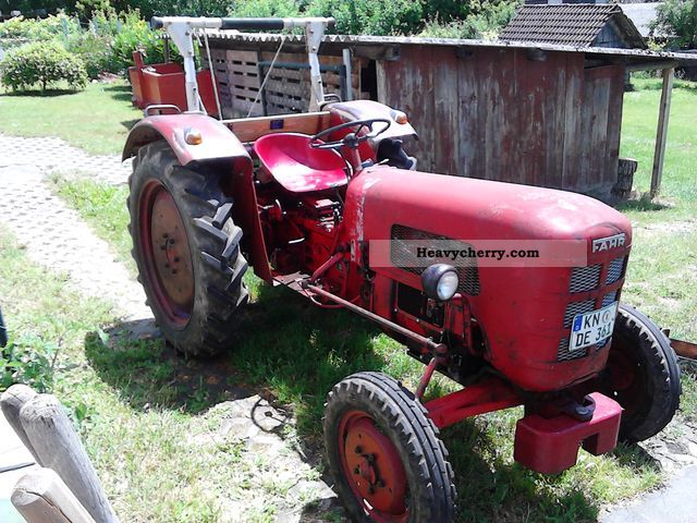 1959 Fahr  D133N Agricultural vehicle Tractor photo