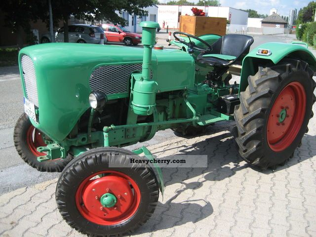 1959 Fahr  Güldner A 4 M Agricultural vehicle Tractor photo