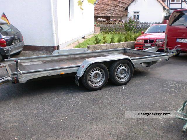 2001 Heinemann  538 1v4 Trailer Car carrier photo