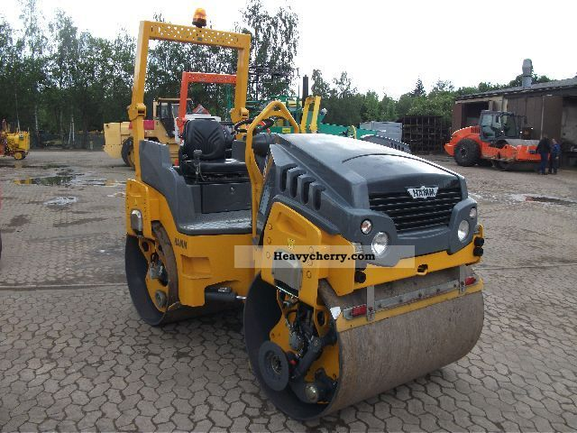 2009 Hamm  HD 13 VV with 2 x KSG Construction machine Rollers photo