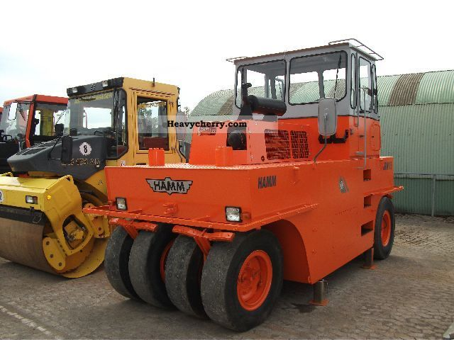 1994 Hamm  GRW 03.15 Construction machine Rollers photo
