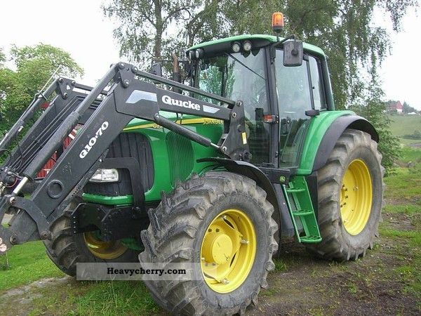 2003 John Deere  6920 Agricultural vehicle Tractor photo