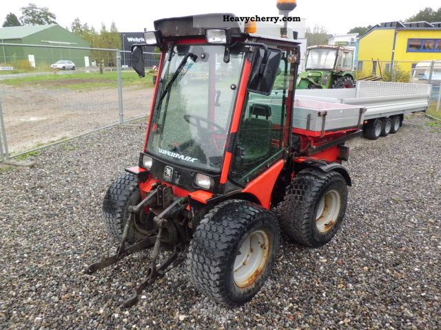 2000 Carraro  SP 4400 HST Superpark Agricultural vehicle Tractor photo