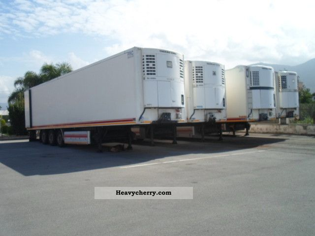 2005 Menci  various brands 5 pieces Semi-trailer Refrigerator body photo