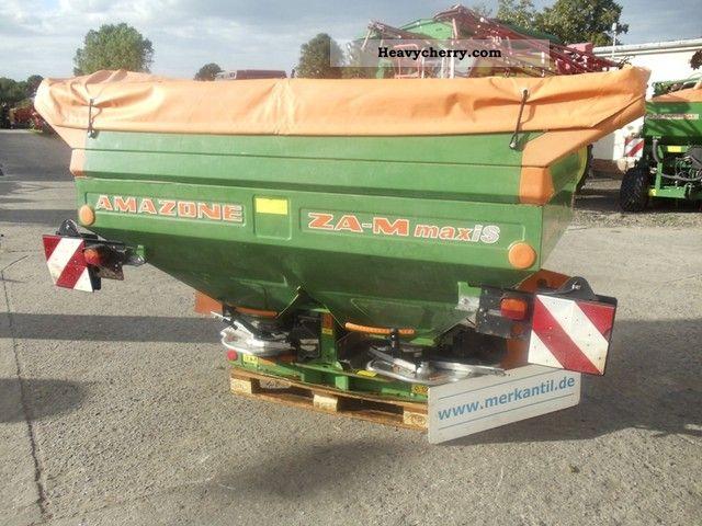 2003 Amazone  ZA-M maxi S Agricultural vehicle Fertilizer spreader photo
