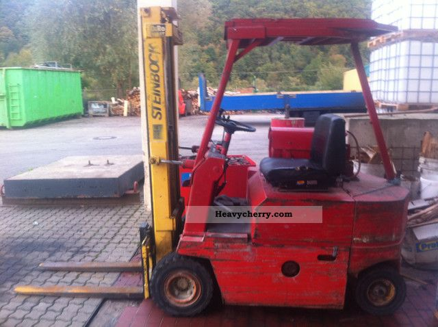1993 Steinbock  IFG CE/32 1.6 Forklift truck Front-mounted forklift truck photo