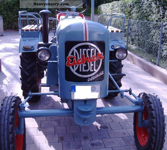 1953 Eicher  EKL 15 Agricultural vehicle Tractor photo