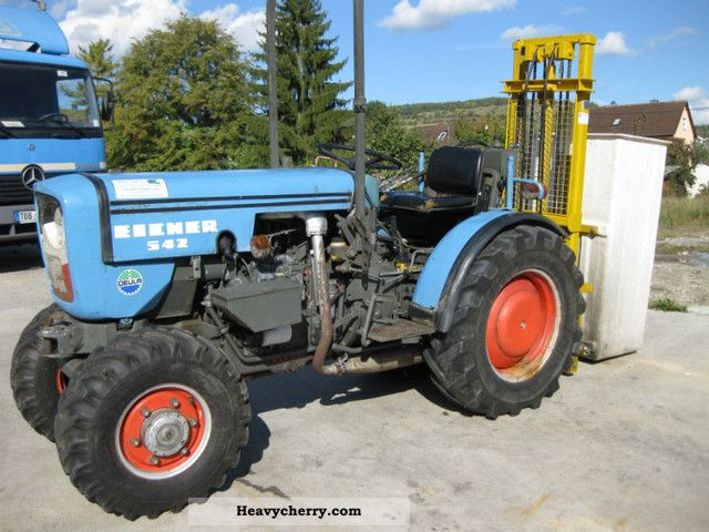 1981 Eicher  542 Agricultural vehicle Tractor photo