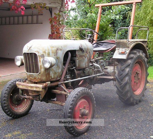 1963 Eicher  EM 100 Leopard TÜV again! Agricultural vehicle Tractor photo