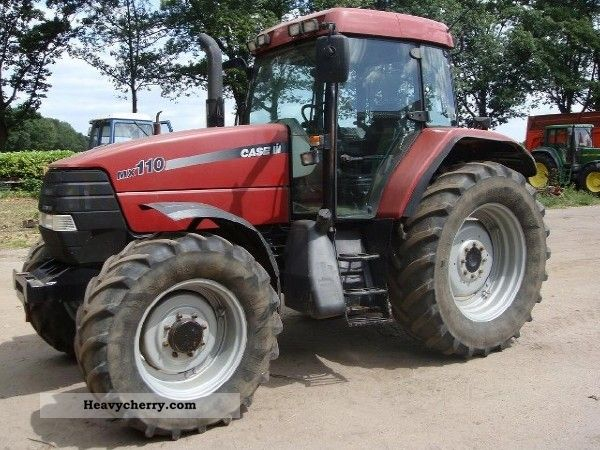 Case Tractor Mx110 : Case mx agricultural tractor photo and specs