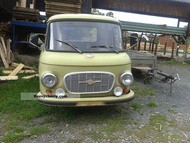 1975 Barkas  B 1000 KO Van or truck up to 7.5t Stake body photo