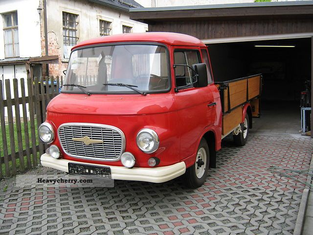 barkas b 1000 pritsche restauriert 1963 stake body truck. Black Bedroom Furniture Sets. Home Design Ideas