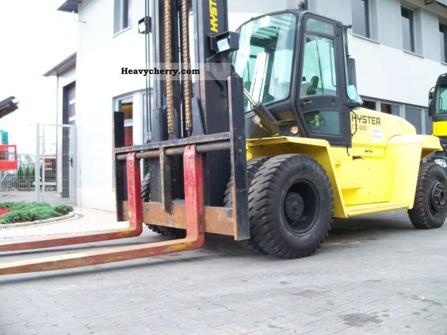 2005 Hyster  13.00HM 13t tylko 876mth 2005r never still Forklift truck High lift truck photo