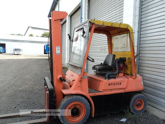 2012 Hyster  H 60 Forklift truck Other forklift trucks photo