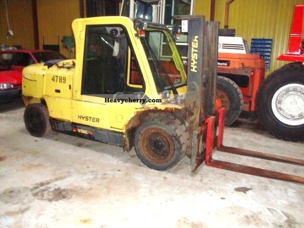 2005 Hyster  5000 Kg / Container passable only 2mtr.Hoch Forklift truck Front-mounted forklift truck photo
