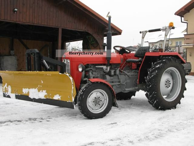 1966 Agco / Massey Ferguson  Massey Ferguson 35 Agricultural vehicle Tractor photo