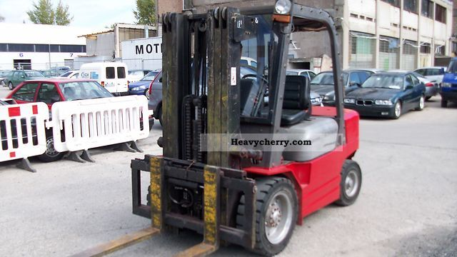 2007 Manitou  CD30 P Forklift truck Front-mounted forklift truck photo