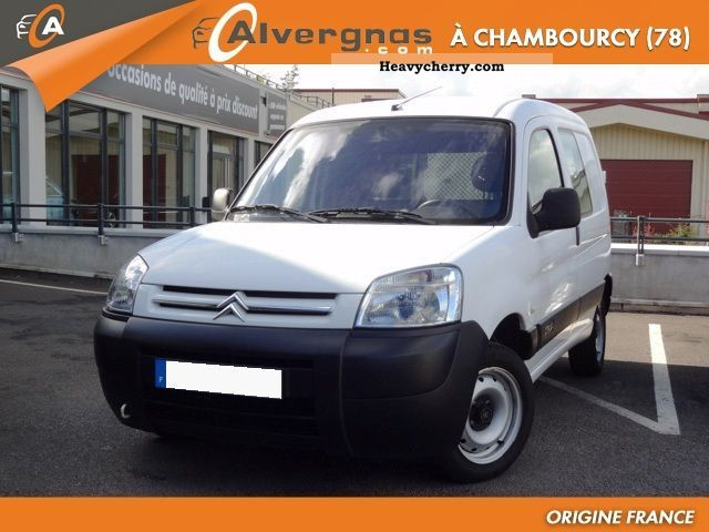 2007 Citroen  Citroën BERLINGO 2.0 HDI 90 PACK CLIM CLUB ENTRE Van or truck up to 7.5t Box-type delivery van photo