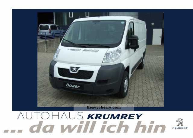 2012 Peugeot  Boxer 330 L2H1 HDi FAP 110 Van or truck up to 7.5t Box-type delivery van photo