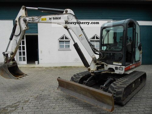 2004 Bobcat  337 (5100 kg) Construction machine Mini/Kompact-digger photo