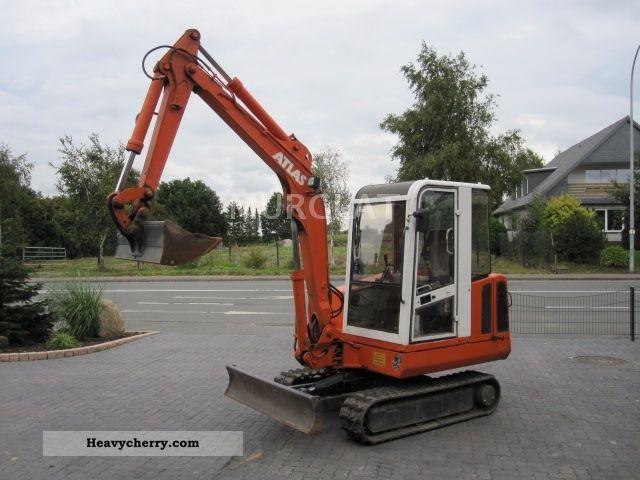2012 Atlas  804 Weight 4000kg Construction machine Mini/Kompact-digger photo