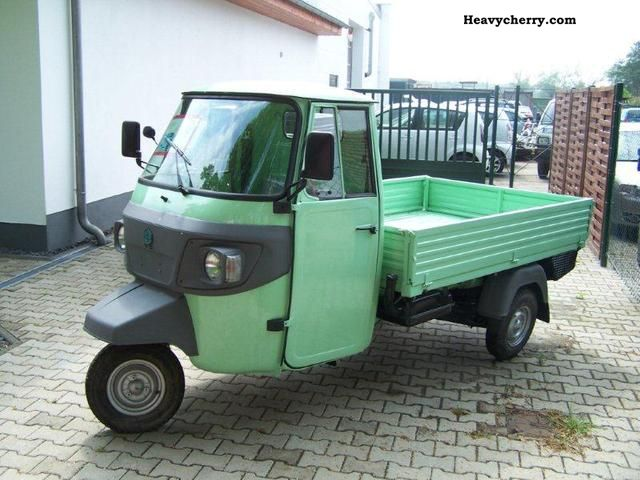 piaggio ape tm classic flatbed diesel 2012 stake body. Black Bedroom Furniture Sets. Home Design Ideas