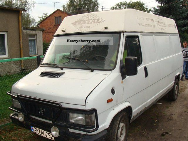 1990 Peugeot  J5 Van or truck up to 7.5t Other vans/trucks up to 7 photo