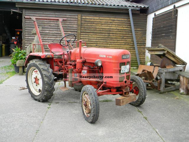 1959 Fahr  D130A / BARN FUND / MOTOR TOP GEAR! Agricultural vehicle Other substructures photo