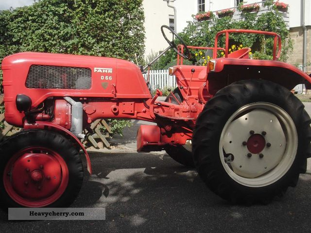1957 Fahr  D66 Agricultural vehicle Tractor photo