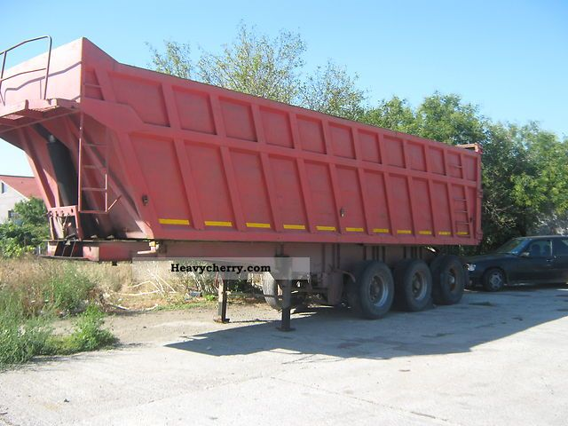 1994 MEGA  bena basculabila Semi-trailer Tipper photo