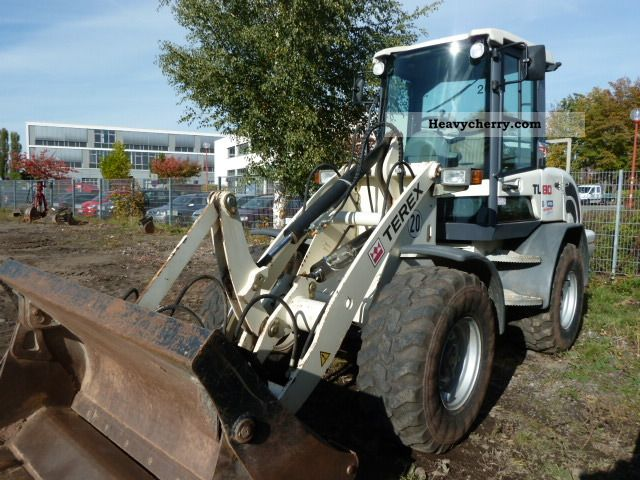 2009 Terex  TL80 Construction machine Wheeled loader photo