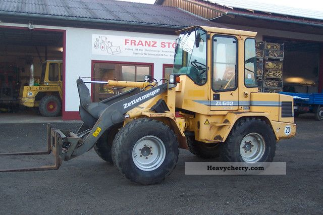 1997 Zettelmeyer  Built 1997 ZL 602 with wide tires Construction machine Wheeled loader photo