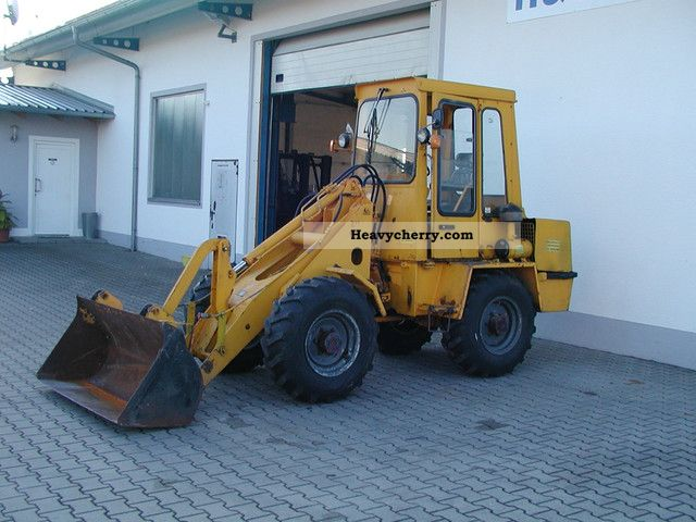 1992 Zettelmeyer  401 B Construction machine Wheeled loader photo