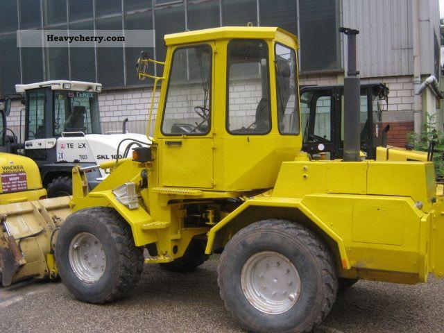 1991 Zettelmeyer  801 Construction machine Wheeled loader photo