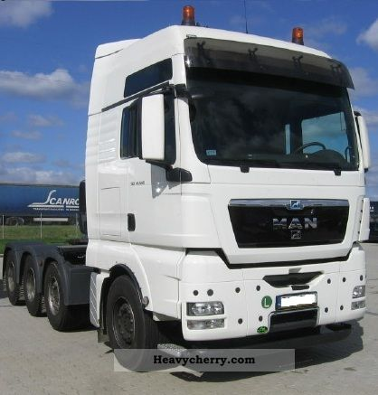 2012 MAN  TGX 41.540 180 000 KG Semi-trailer truck Volume trailer photo