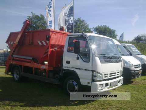 2009 Isuzu  NQR Series 7.5 t / skip / 190 hp / 5.99% Van or truck up to 7.5t Dumper truck photo