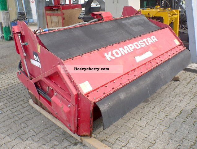 1992 BvL - Van Lengerich  Kompostar compost converter wagon humus Agricultural vehicle Other substructures photo