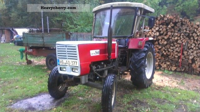 1978 Steyr  548 Agricultural vehicle Tractor photo